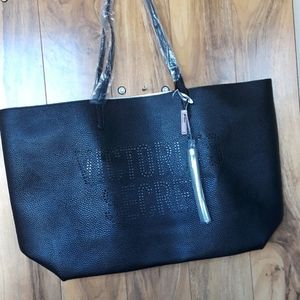 NWT Victoria Secret Black Tote